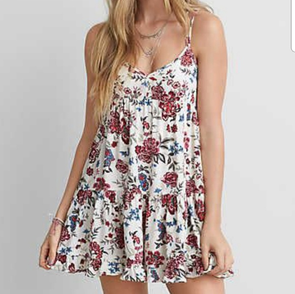 006fe5edf5152 American Eagle Outfitters Dresses   American Eagle Tiered Babydoll ...